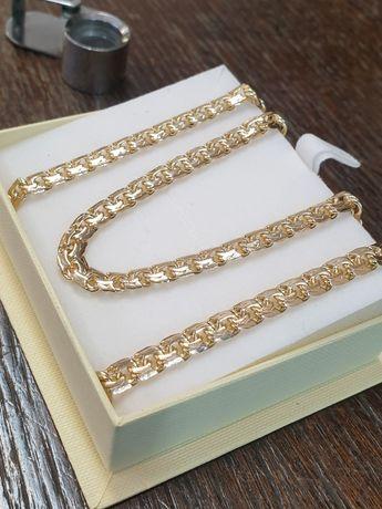 Łańcuszek złoty pr.585 w. 36 gramów wzór galibardi