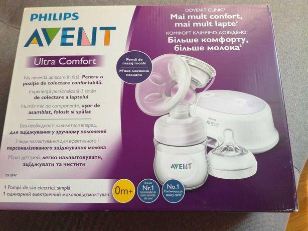 Продам електричний молокоовідсмоктувач Philips