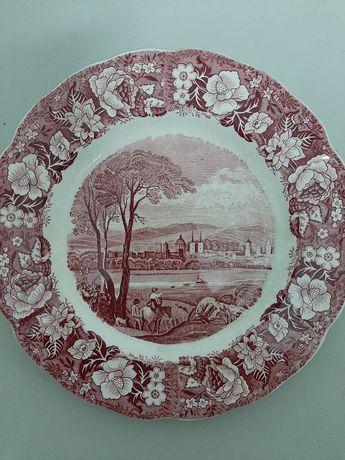 Prato em porcelana da Palissy Poterry