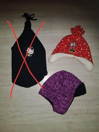 Czapka, czapki, pilotka Myszka Minnie dla dziewczynki 2-4l