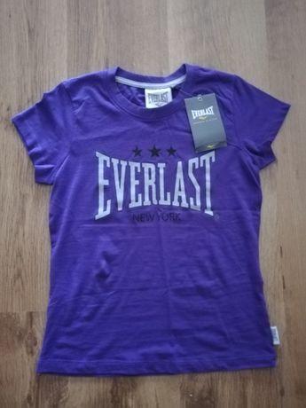 Nowy t-shirt dla dziewczynki Everlast r. 152