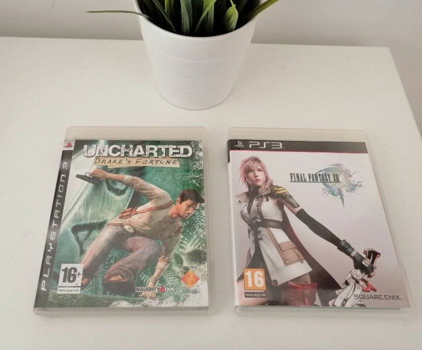 Pack PS3 Final Fantasy XIII + Uncharted Olivais - imagem 1