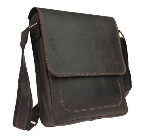 Мужская кожаная сумка ручная работа натуральная кожа sullivan