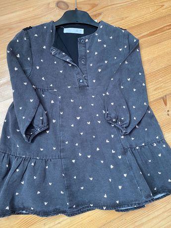 Платье Зара 86 на 2-3 года