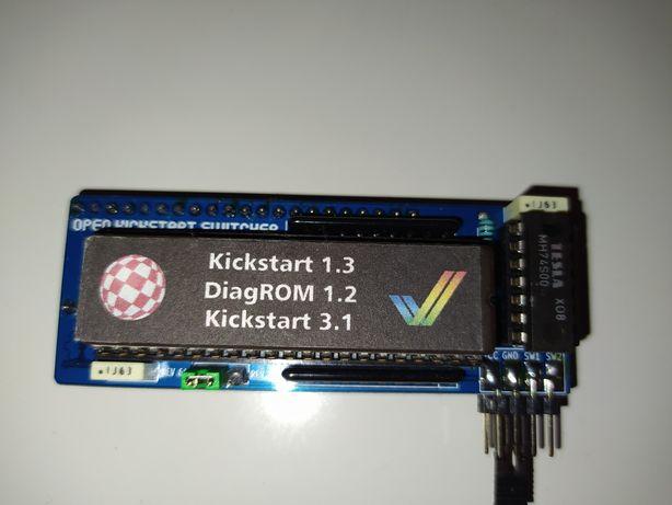 Przełącznik kickstarow 1.3/3.1/DiagROM 1.2 do Amigi 500/600/CDTV