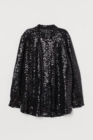 Vendo blusa com lantejoulas nova H&M