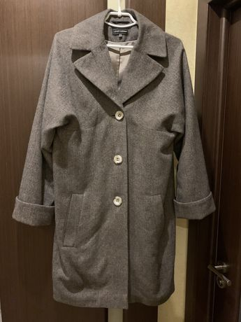 Пальто из шерсти альпака