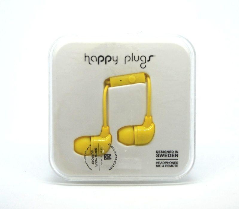 Szweckie Słuchawki przewodowe Happy Plugs różne kolory Lombard Tarnów