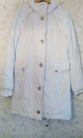 Парка-куртка женская белая Размер 14 uk