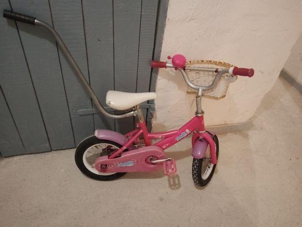 Rowerek dziewczęcy koła 12