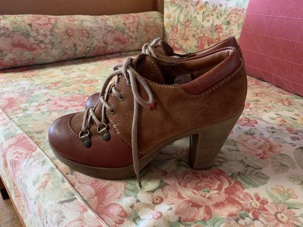 Sapato Castanho - Cubanas
