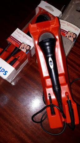 Conjunto 2 Microfones Philips