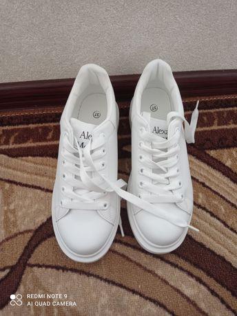 Кеды кроссовки белые женские