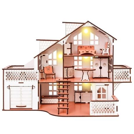 Детский домик для игрушек или Кукольный домик