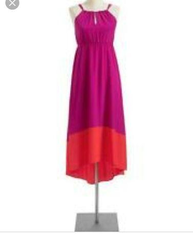 Old navy платье сукня сарафан фуксия розовое