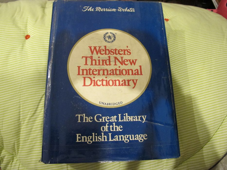 Webster's Third New International Dictionary Warszawa - image 1