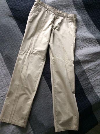 Męskie spodnie Tommy Hilfiger eleganckie rozm M/L