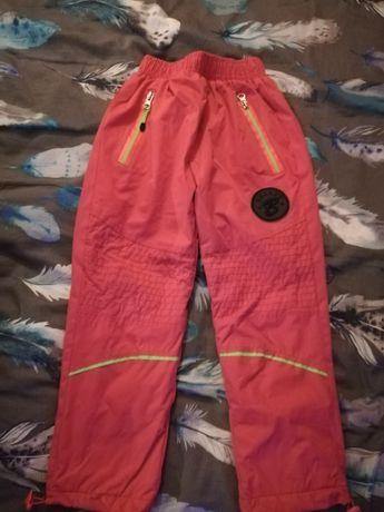 Śniegowe spodnie dla dziewczynki