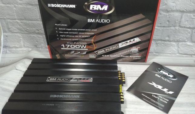 Усилитель звука авто 4х канальный 1700W Boschmann BM