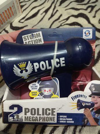 Громкоговоритель полицейский игрушка