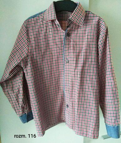 Koszule i sweterki dla chłopca