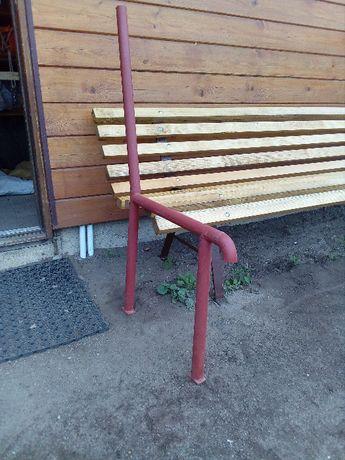 Nogi nóżki metalowe do ławki krzesła masywne i wygodne