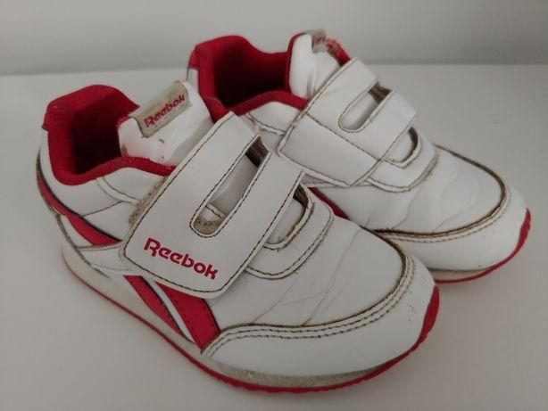 Buty półbuty Reebok 25,5 biało-różowe