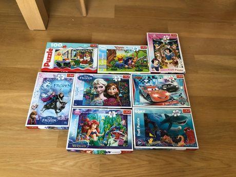 Puzzle 100 części
