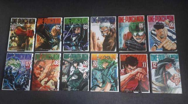 Manga One Punch Man 1-12 Mangi