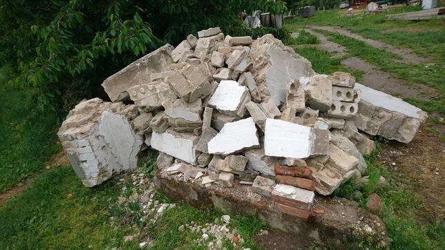 Oddam GRUZ Pobudowlany cegły kamień beton ZA DARMO!!