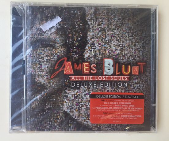 CD duplo - James Blunt - all the last souls ( deluxe edition)