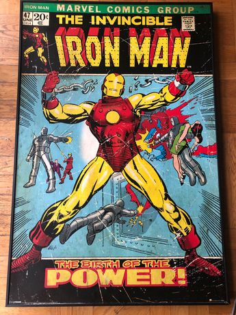 Marvel Comics Iron Man Obraz