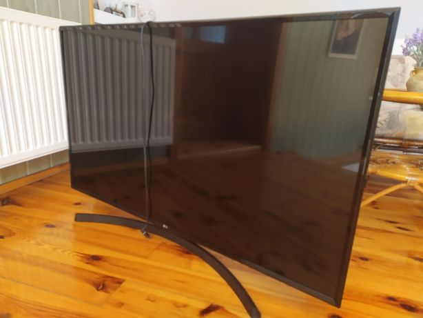 Tv LG 50UK6470PLC uszkodzona matryca