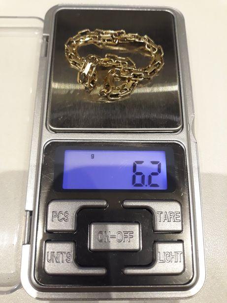 Złota bransoletka 585 próba 150zł gram