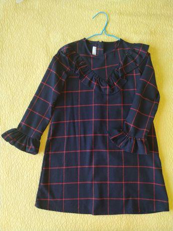 Платье для школы тёплое LC WAIKIKI на 8-10 лет