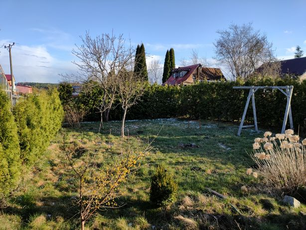 Piękny ogródek działkowy.