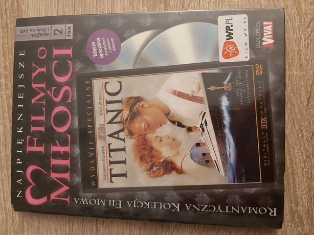Titanic- L. DiCaprio,K. Winslet Polski Lektor Folia 2 Dvd Unikat