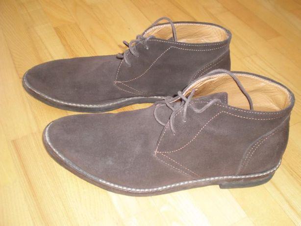 Итальянские замшевые ботинки Идеал