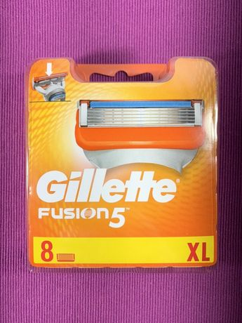 Сменные кассеты Gillette fusion (2шт, 4шт, 8шт)
