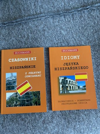 Czasowniki Hiszpanskie + idiomy 2 ksiazki