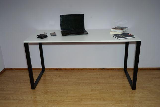 Młodzieżowe białe biurko do pracy