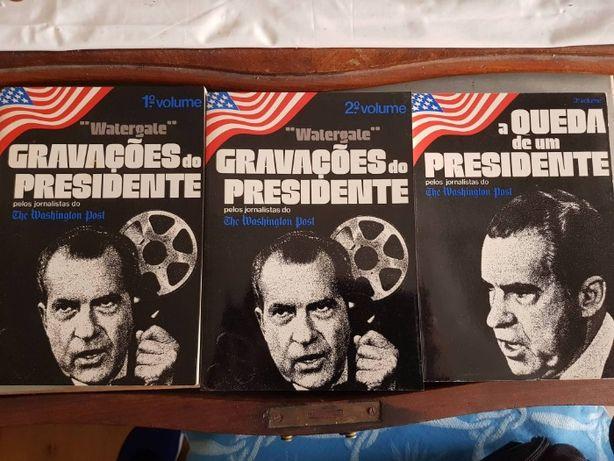 """Watergate"" 3 Volumes: Politica / Nixon"