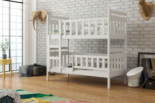 Drewniane łóżko dla dzieci Staś Slim 2 osobowe materace gratis !