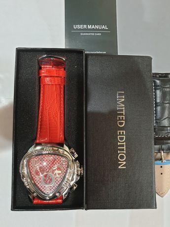 Nowy orginalny automatyczny wielofunkcyjny zegarek Jaragar