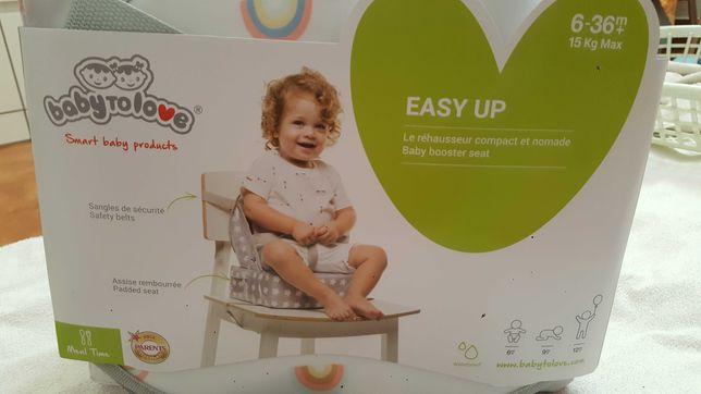 Assento elevatório (Novo) para cadeira Easy up da BABY TO LOVE