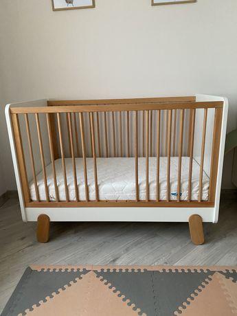 Łóżeczko Pinio Iga 120x60 + materac