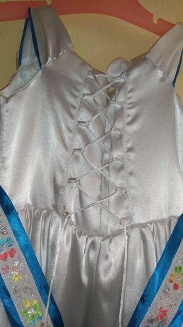 Платье детское выпускное