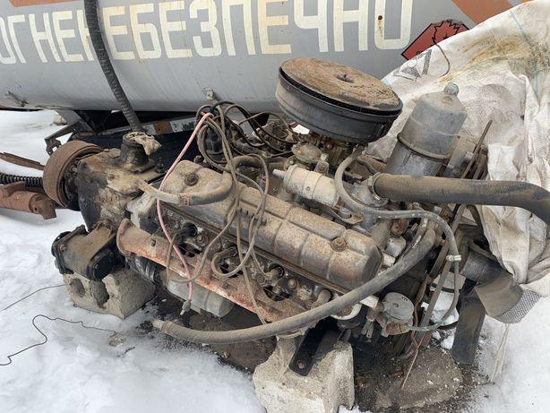 Двигатель с коробкой ГАЗ-53