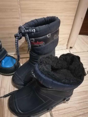 Ботинки, резиновые сапожки теплые