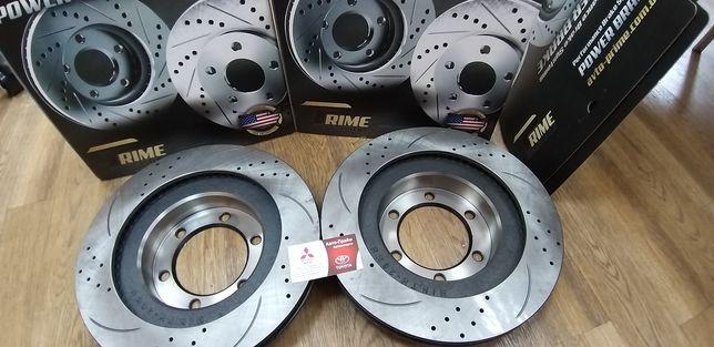 Тормозные диски Toyota Prado 120 150 Lexus GX POWER BRAKE